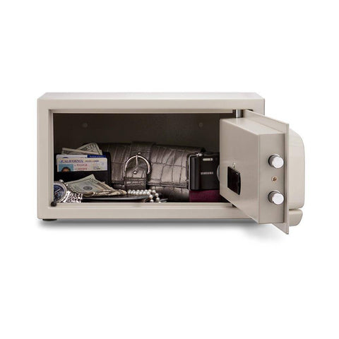 MESA Safes Hotel Safe 0.4 cu.ft. w/ Electronic Lock MH101-WHT-KA