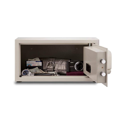 Image of MESA Safes Hotel Safe w/ Card Swipe Electronic Lock MHRC916E-WHT-KA