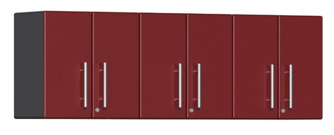 Ulti-MATE Garage 2.0 Series 3-Piece Wall Cabinet Kit in Ruby Red Metallic
