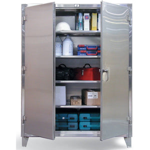 Strong Hold Stainless Steel Storage Cabinet 36-244SS