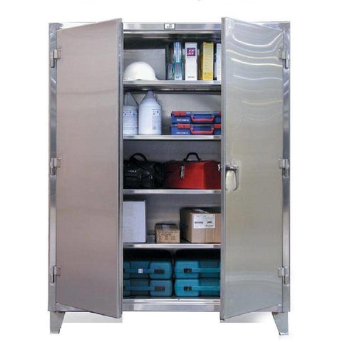Image of Strong Hold Stainless Steel Storage Cabinet 36-244SS