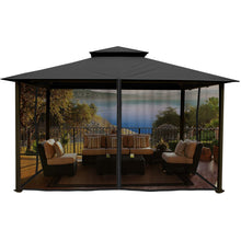 Paragon Kingsbury Gazebo w/ Grey Top & Mosquito Netting GZ584NGK