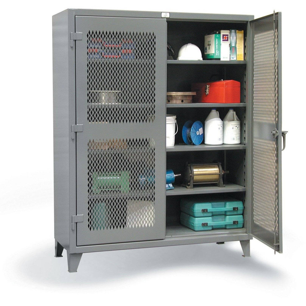 Strong Hold Ventilated Storage Cabinet 36-V-244 Industrial garage
