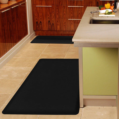 WellnessMat Original 6' X 3' 63WMRBLK, Black