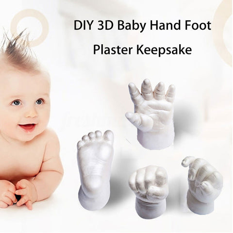 DIY 3D Baby Hand & Foot Casting Keepsake Kit