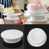Rotating Cake Decorating Stand