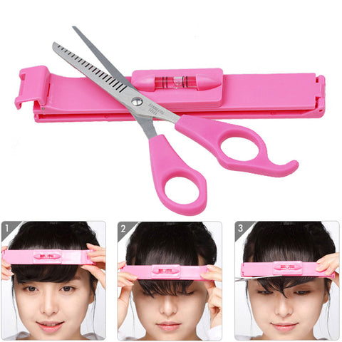 Hair Cutting Level Bangs Clipper Tool