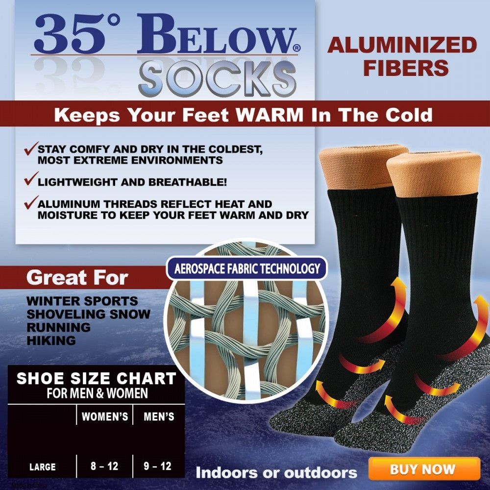 0d80a581893e0 35 Degree Below Thermal Winter Socks - SK Collection