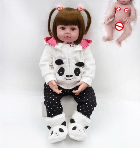 48 CM Full Body Silicone Reborn Baby Doll