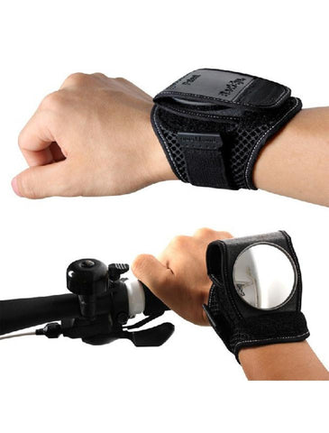 Bicycle Wrist Band Rear View Mirror