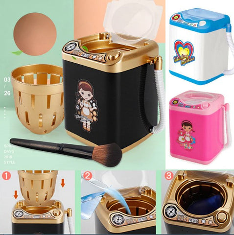 Electric Makeup Brush Cleaner Washing Machine