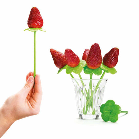 Flower Shape Fruit Forks