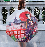 Cherry Flower 3D Umbrella