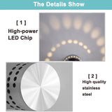 Spiral Effect Lamp With Remote Control