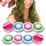 4 Temporary Hair Chalk Set