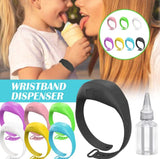 Hand Sanitizer Wristband