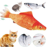 Moving Fish Electric Toy - Simulation Fish Plush Toy