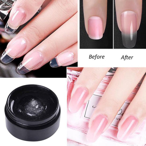 Cracked Nail Repair Fiberglass Gel