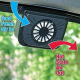 Solar Powered Car Auto Cool Air Vent
