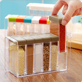 Candy Color Seasoning Condiment Spices Rack
