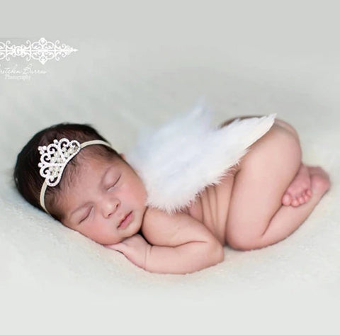 Buy Cheap Little Angel Baby Feather Wings
