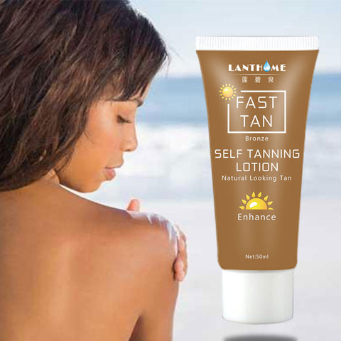 Natural Bronze Self Sun Tanning Enhance Lotion