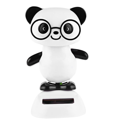 Solar Powered Cute Shaking Panda