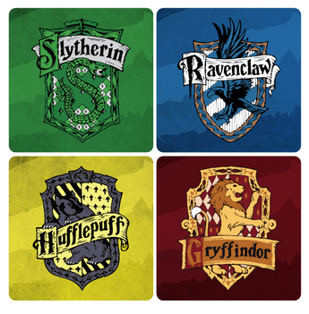 Harry Potter Houses Coasters