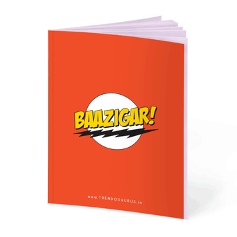 Baazigar Notebook