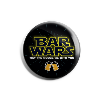 Barwars Badge Magnet
