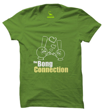 Men's Kelly Green Organic T-Shirt-The Bong Connection