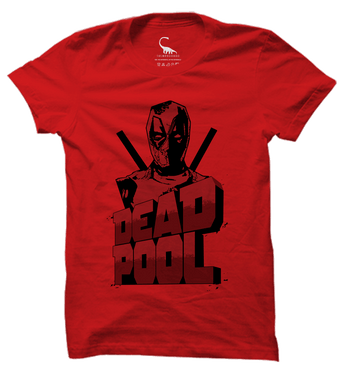 Unisex Fiery Red Organic T-Shirt-Deadpool
