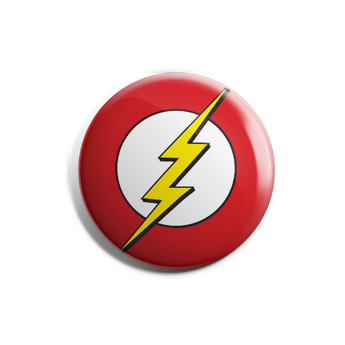 Flash Symbol Badge Magnet