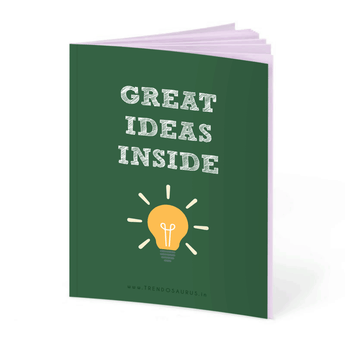 Great Ideas Inside Notebook