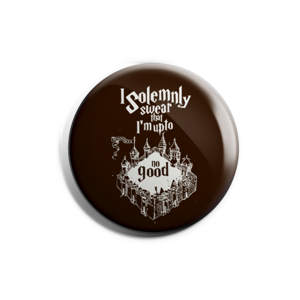 I Solemnly Swear Badge Magnet
