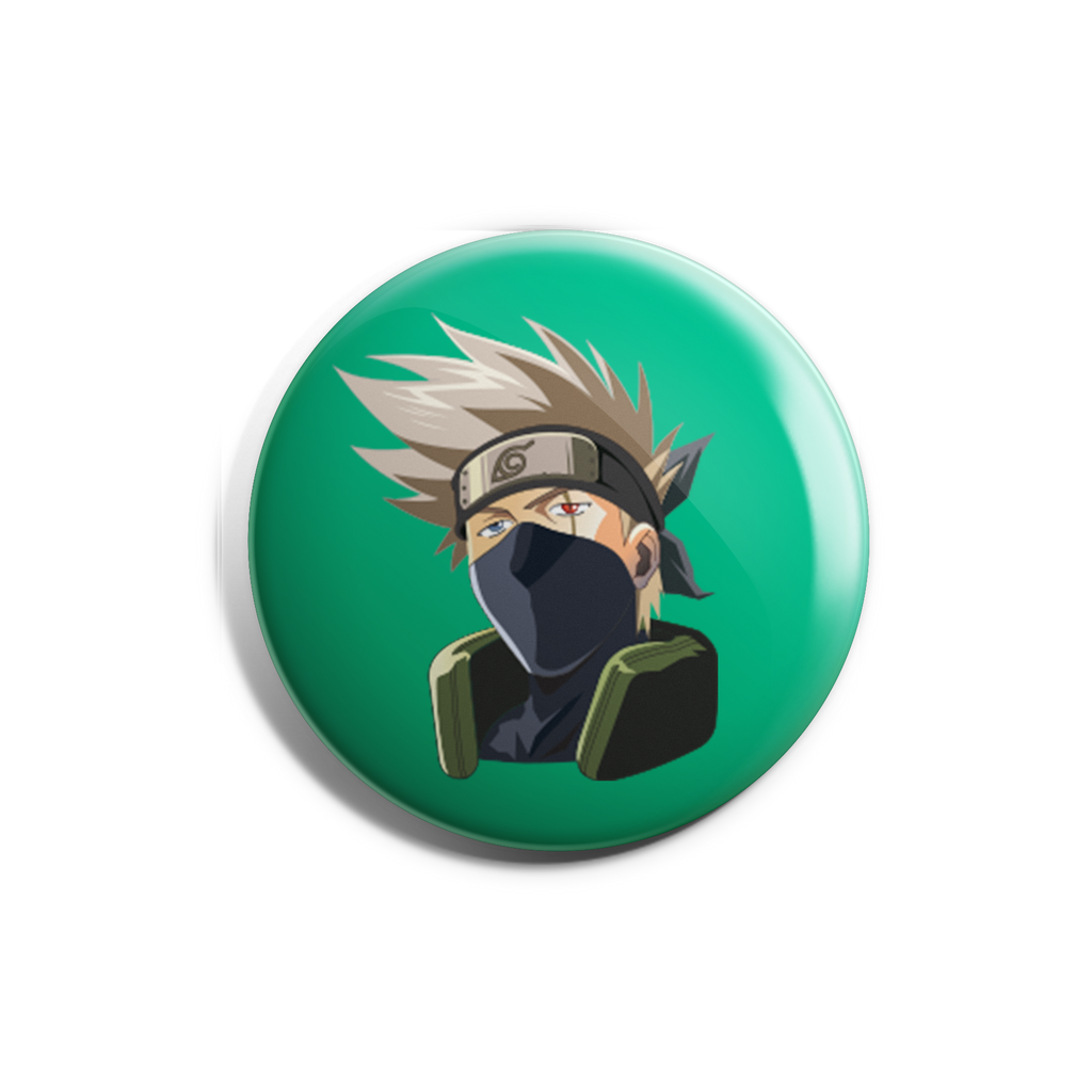 Kakashi Badge Magnet