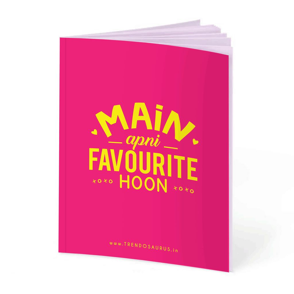Main Apni Favourite Hoon Notebook