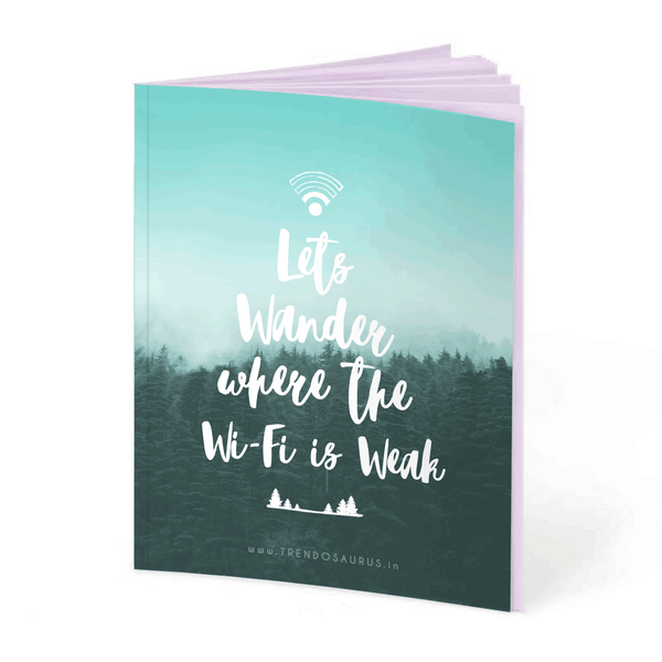 Let's Wander Notebook