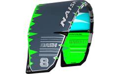 Naish Dash Kite Grey/Teal/Green