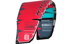 Naish Dash Kite Red/Teal/Grey