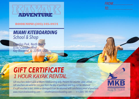 Kayak Rental Gift Certificate - 2 Persons