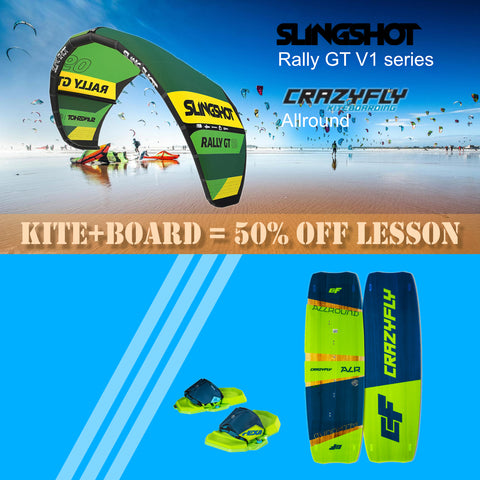 Kitesurfing Gear Package - Slingshot Rally