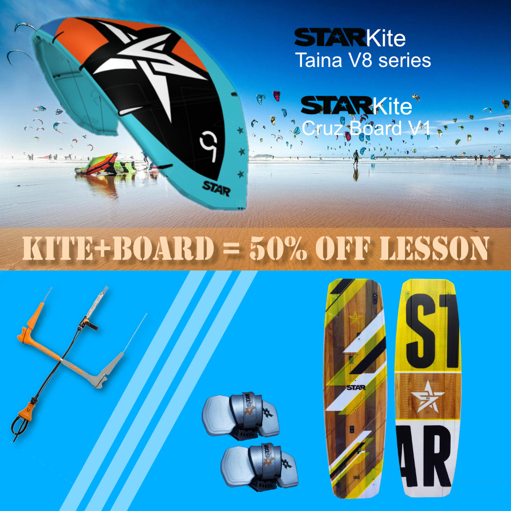 Starkite Taina V9 Packages Kiteboarding