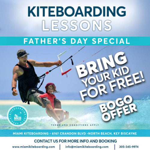 Kitesurfing Lessons Father 's Day