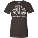 _quot_This is How I Roll_quot_ Farming Farmer Tractor T-shirt