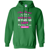 50 Years Old Women's T-Shirt Birthday Gift Born in 1966