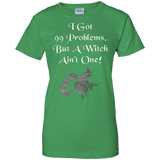 99 Problems But A Witch Aint One Funny Halloween T-Shirt