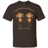 4th Wedding Anniversary T-shirt 4 Years Vintage Gift