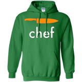 _quot_Chef_quot_ T-Shirt with knife -- kitchen, cooking, food sayings