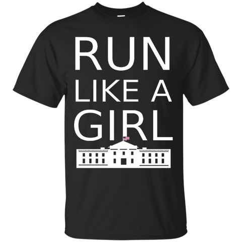 _quot_Run Like A Girl_quot_ Hillary Clinton T-Shirt